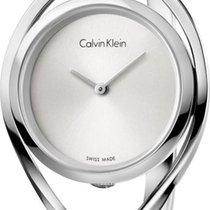 ck Calvin Klein LIGHT K6L2M116 Damenarmbanduhr Swiss Made