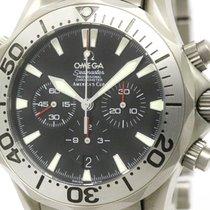 Omega Polished Omega Seamaster Pro Chronograph Americas Cup...