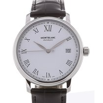 Montblanc Tradition 37 Date Black Strap