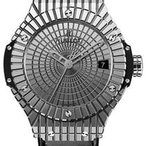 Hublot Big Bang 41mm Steel Caviar Black Rubber Unisex Watch