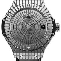 Hublot Big Bang 41mm Steel Caviar Black Rubber Unisex Watch