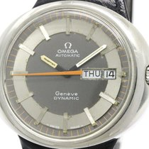 Omega Vintage Omega Geneve Dynamic Steel Leather Automatic...