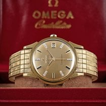 Omega 18K SOLID GOLD & DIAMOND CONSTELLATION CHRONOMETER