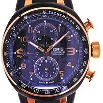 Oris Mans Automatic Wristwatch Chronograph TT3 Bicolor ,