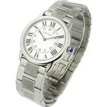 Cartier W6701005 Ronde Solo- Large Size in Steel - On Bracelet...