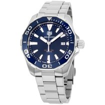 TAG Heuer Aquaracer Blue Dial Stainless Steel Men's Watch...