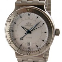 Temption CM03 White Automatik GMT Date 42mm Neu