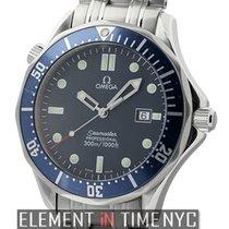 Omega Seamaster James Bond 300 M Blue Dial Quartz Circa 1999...