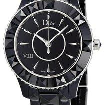 Dior VIII Black Ceramic Ladies Watch