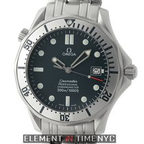 Omega Seamaster 300m Stainless Steel Blue Dial 41mm 2000