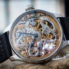 """Omega Marriage watch skeletonized """"Cobra"""" c.1910"""