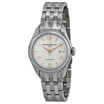 Baume & Mercier Ladies Clifton Stainless Steel Watch