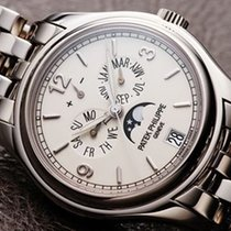 Patek Philippe [NEW-OLD-STOCK] Annual Calendar Ivory 5146/1G-0...