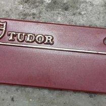 Tudor vintage tag red plastic