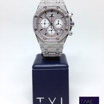Audemars Piguet Royal Oak Chronograph full diamonds set