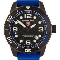 Swiss Military Marlin Scuba Nero Swiss Watch 20atm Sapphire...