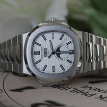 Patek Philippe Nautilus Silver Dial Stainless Steel