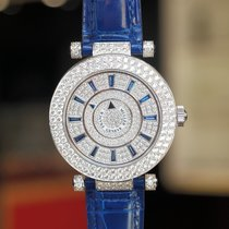 Franck Muller Double Mystery Ronde White Gold Diamonds Watch