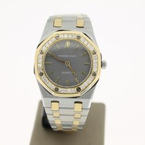 Audemars Piguet Royal Oak Steel/Gold AFTERSET DIAMONDS 26mm...