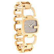 Gucci 123G Series Ladies  Gold Tone Swiss Quartz Watch YA125511