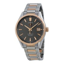 TAG Heuer Carrera Calibre 5 Anthracite Dial Mens Watch...