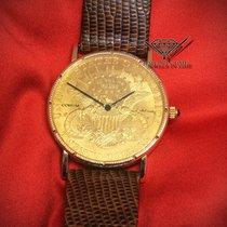 Corum US Twenty Dollars Eagle 1904 Automatic 18k Yellow Gold...