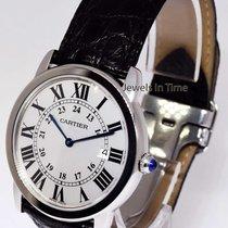 Cartier Ronde Solo 36mm Quartz Watch Steel Box/Book W6700255