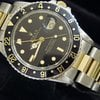 Rolex 18k Gold/ss Stainless Gmt-master Date Watch