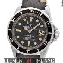 Rolex Submariner Submariner Matte Black Patina Dial Circa 1978...