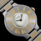 Cartier Must De 21C Mens Midsize Unisex Watch- SS & 18K Gold