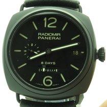 Panerai Pam 384 Radiomir Ceramic 8 Days 45mm Mechanical N...