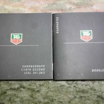 TAG Heuer vintage pair of booklets for  caliber 251 & 262