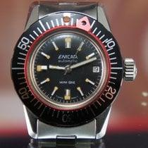 Enicar Mini Dive Sherpa Watch Vintage Rare NOS / NEW