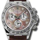 Rolex Daytona White Gold - Leather Strap 116519 dkltmd