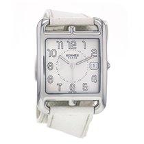 Hermès Cape Cod Steel White Strap Quartz White Dial Large...