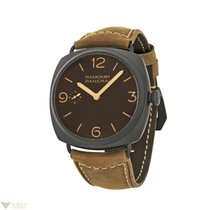 Panerai Radiomir Composite Brown Dial Brown Leather Ceramic...