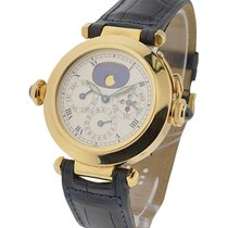 Cartier W3001251 38mm Pasha Perpetual Calendar with Minute...
