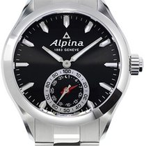 Alpina Horological Smartwatch Black Dial Men's Watch...