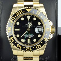 Rolex 18k Yellow Gold Ceramic GMT Master II 116718