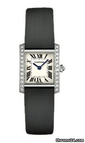 Cartier Tank Francaise Small Gold With Diamonds