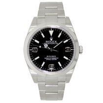 Rolex EXPLORER 39mm Stainless Steel Watch