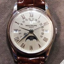 Patek Philippe Retrograde Perpetual Moonphase White Gold 5050G