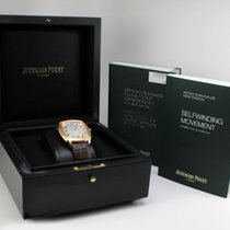 Audemars Piguet AP Tradition Extra-Thin Rose Gold on Leather...