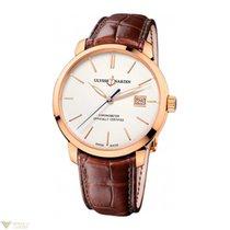 Ulysse Nardin San Marco Classico 18k Rose Gold Men's Watch