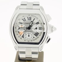 Cartier Roadster Chronograph Xl Steel (B&P2008) 42mm