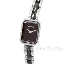 Chanel Premiere Diamond Bezel Steel Black Ceramic 15MM Quartz