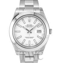 Rolex Datejust II White/Steel Ø41mm - 116300