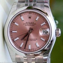 Rolex Datejust Ladies New Midsize Stainless Steel Box Paper...