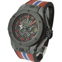 Hublot 401.CX.1123.VR Big Bang Black Ceramic Ferrari Speciale...