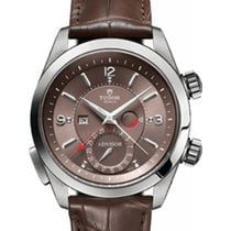Tudor Heritage Advisor 79620TC Cognac Arabic & Index...